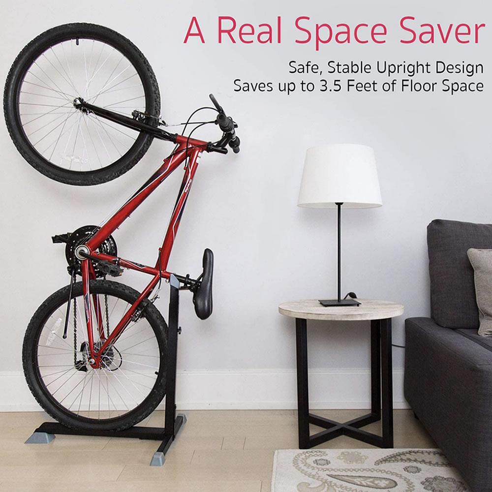 apartment wall bike rack