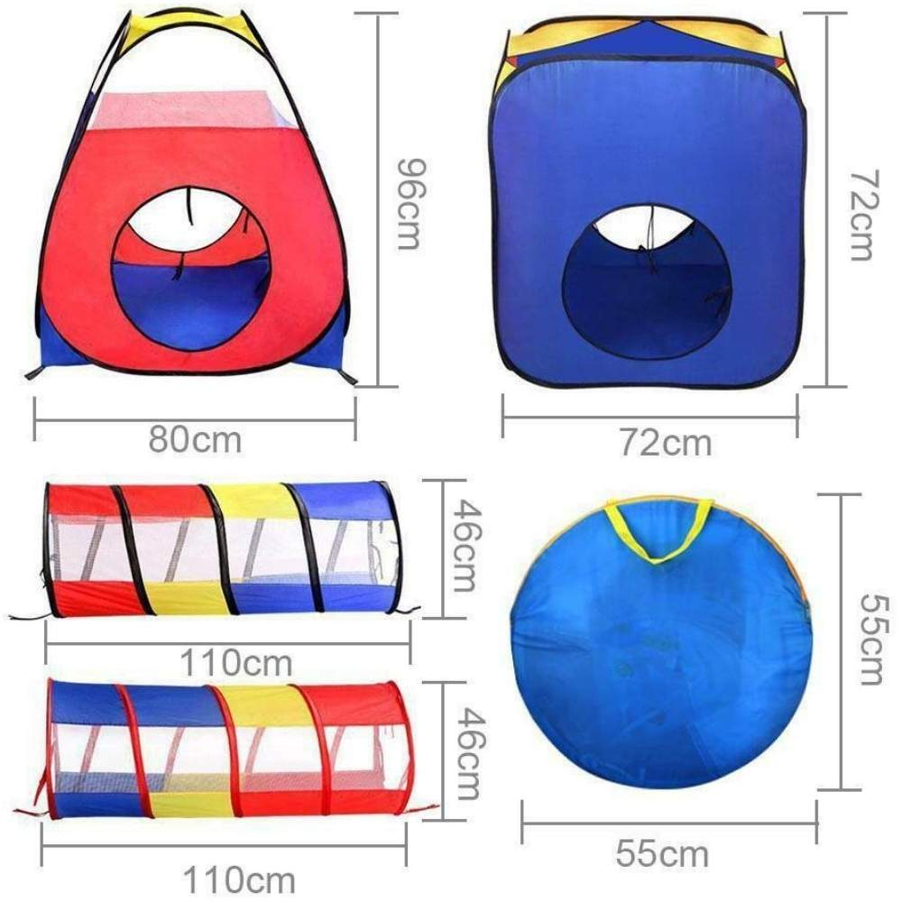 buy childrens play tent crawl tunnel