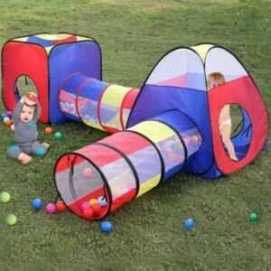buy toddlers play tent crawl tunnel
